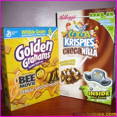 Coolest cereal box prizes images