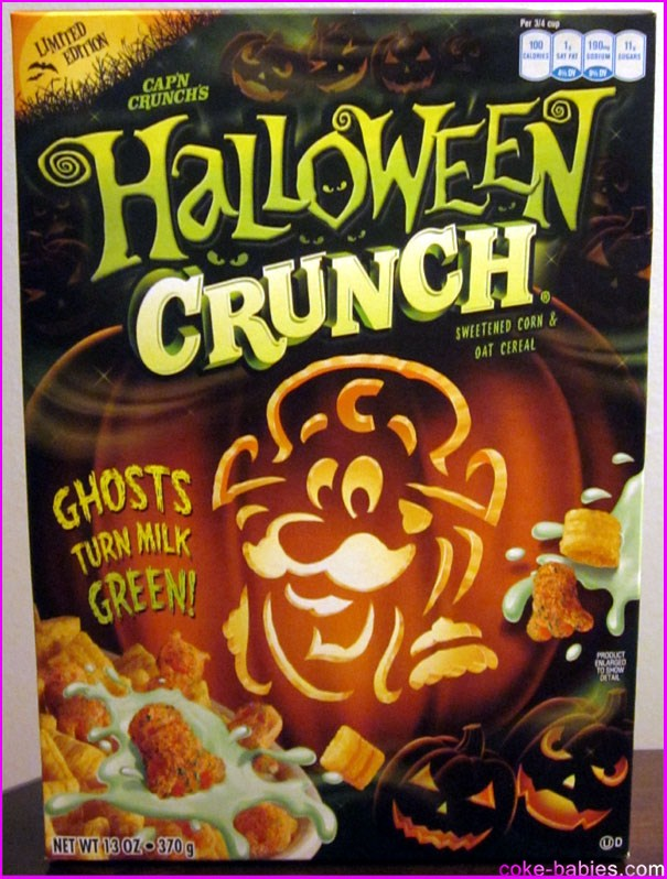 Cereal Review: Halloween Crunch | Diet Coke-Babies