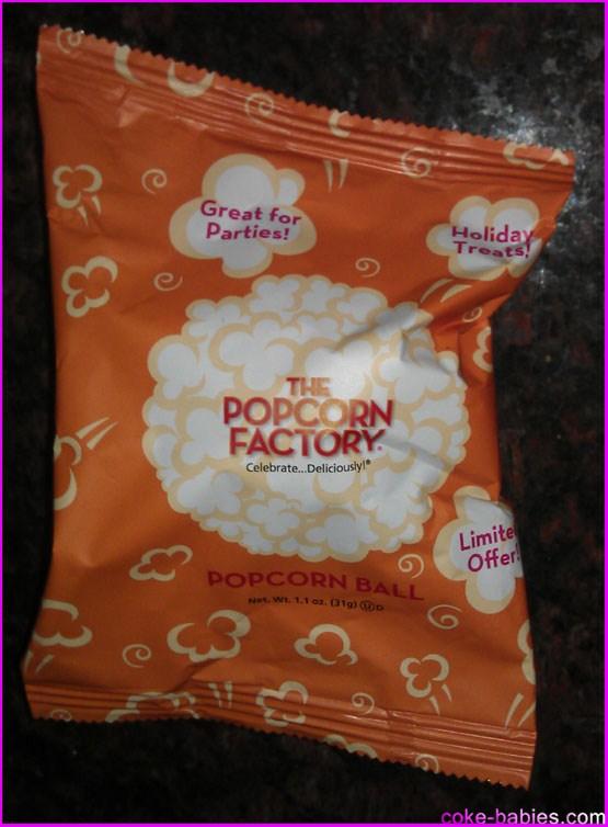 Food Review Popcorn Balls Diet Coke Babies