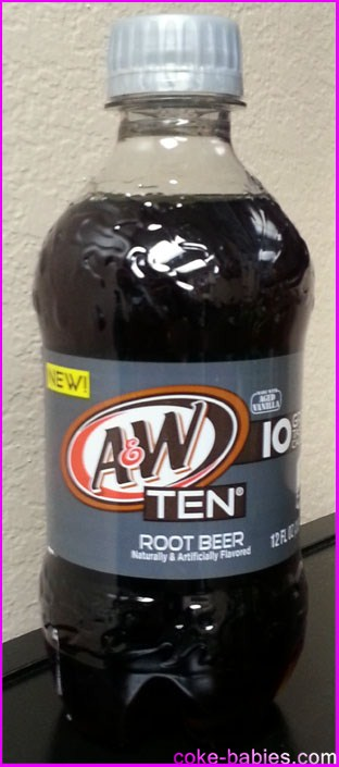 Soda Review: A&W, Sunkist, 7-Up, and Canada Dry Ten   Diet Coke-Babies