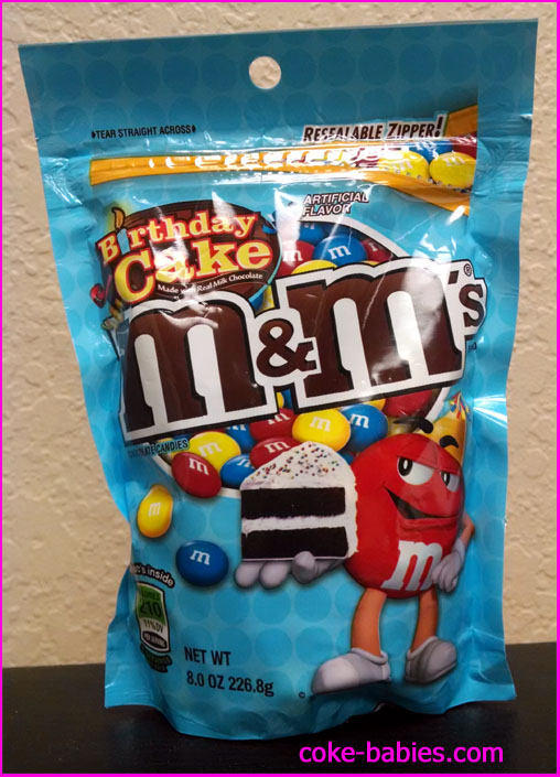 Candy Review Birthday Cake Mms Diet Coke Babies