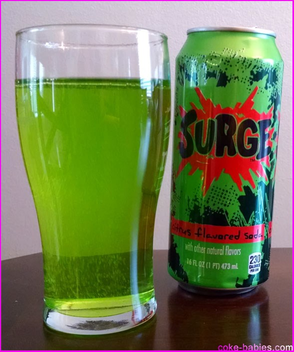 Soda Review: Surge 2014 | Diet Coke-Babies